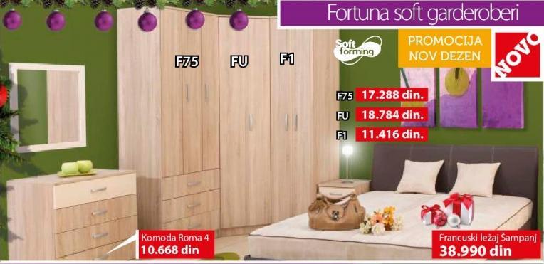 Garderober Fortuna Soft F1