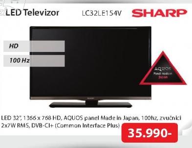 Televizor  LED LC32LE154V