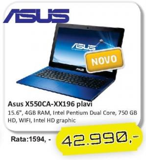 Laptop X550ca-Xx196 Plavi