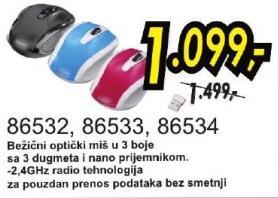 Bežični optički miš 86534
