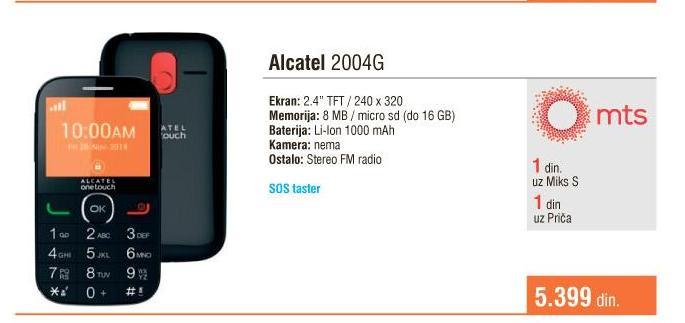 Mobilni telefon 2004g