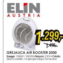 Ventilatorska grejalica AIR BOOSTER 2000