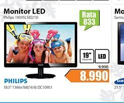 "Monitor 18.5"" 193V5LSB2/10 LED"