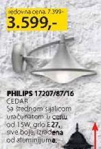 Baštenska lampa 17207/87/16