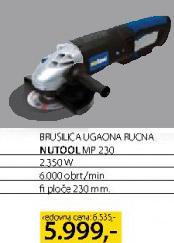 Brusilica ugaona ručna Nutool Np230