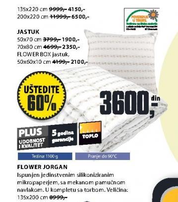 Jastuk Flower 70x80cm