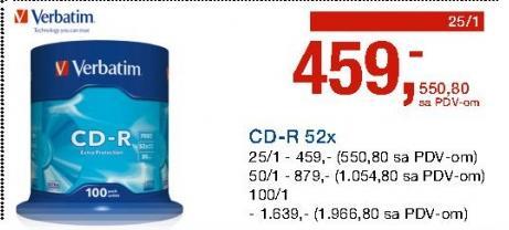CD-R 52x