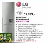 Kombinovani frižider GB-3033TINK