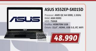 Laptop X552EP-SX015D
