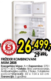 Frižider MXM 2808