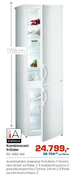 Kombinovani frižider Rc4180 Aw