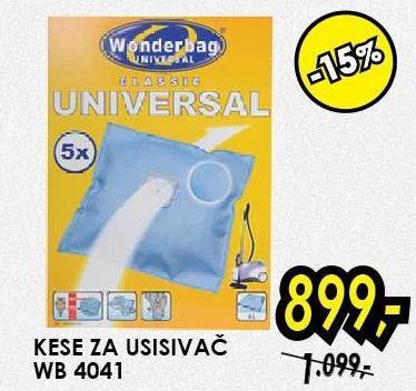 Kesa za usisivač WB 4041