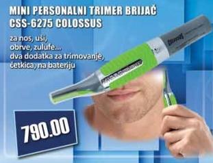 Mini personalni trimer - brijač Css-6275