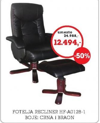 Fotelja Recliner HF-A0128-1