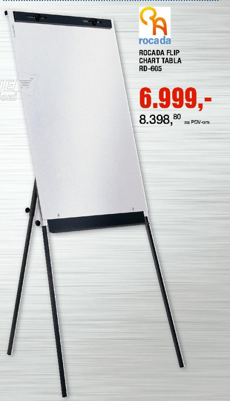 Rocada Flip Chart Tabla, RD-605