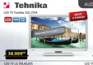 Televizor LED 32W1334