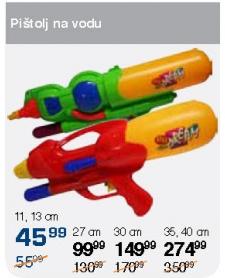 Pištolj na vodu 11,13cm