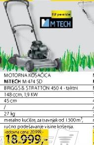 Motorna kosačica mM 474 SD