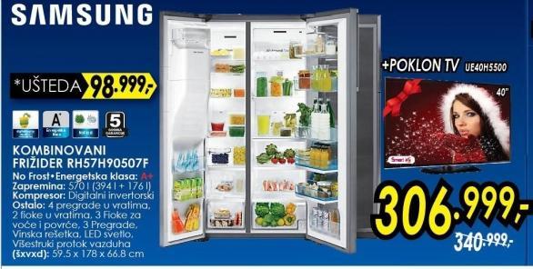Kombinovani frižider RH57h90507F