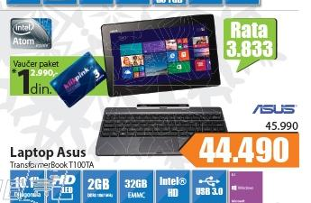 Laptop TransformerBook T100TA-DK002H