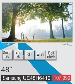 """Televizor LED 48"""" 3D Ue48h6410"""