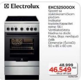 Šporet EKC 52500OX -