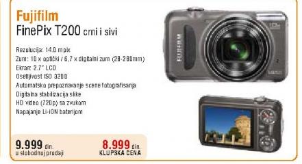 Fotoaparat FinePix T200