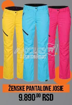 Ženske pantalone Josie