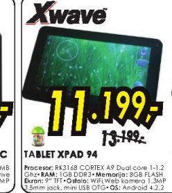 tablet XPAD 94