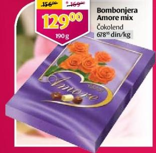 Bombonjera Amore mix