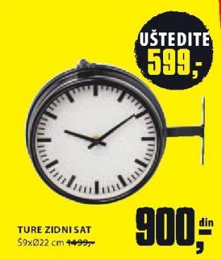Zidni sat Ture
