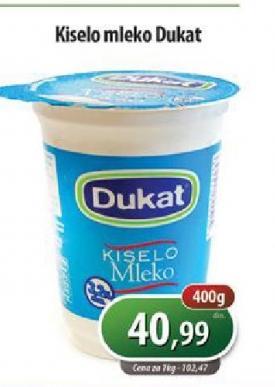 Kiselo mleko 3,2% mm