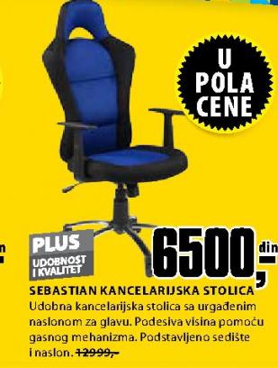 Kancelarijska stolica Sebastian