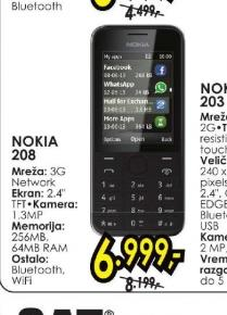 Mobilni telefon N 208