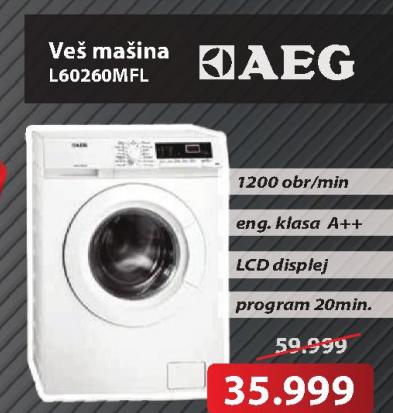 Mašina za veš L60260MFL