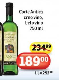 Belo vino La Corte Antica