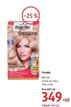 Farba za kosu Deluxe