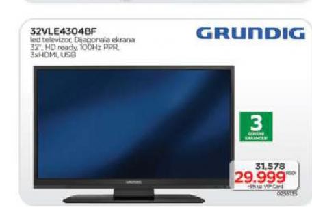 Televizor LED Grundig 32VLE4304BF