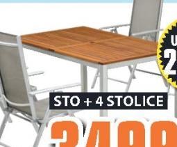 Baštenski sto Drammen