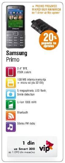 Mobilni telefon Primo