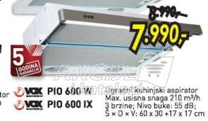 Aspirator PIO 600 IX