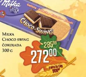 Čokolada Choco swing