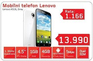 Mobilni telefon A516 Gray