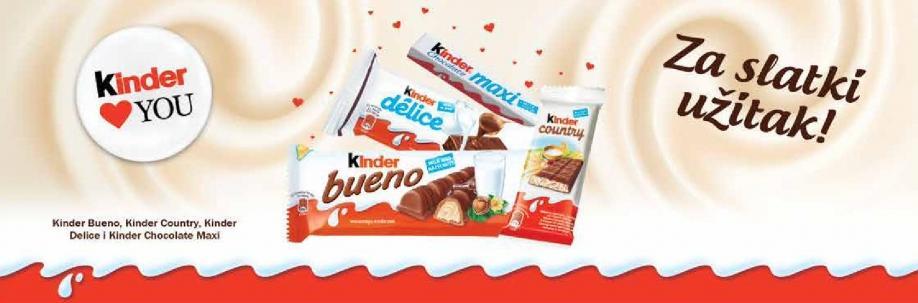 Kinder love you - Za slatki užitak
