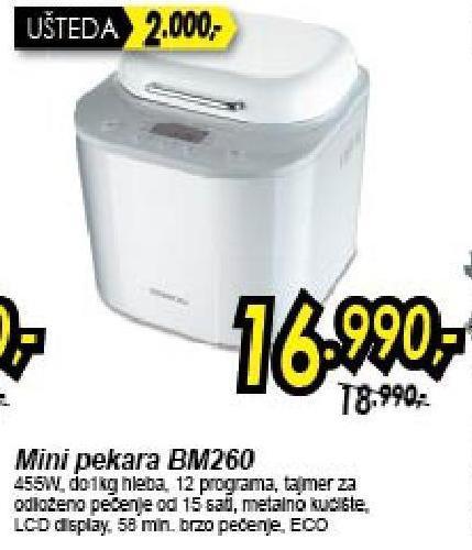 Mini pekara BM260