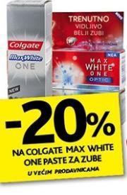 Na Colgate Max White One paste za zube