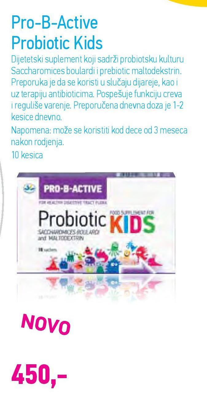 Kapsule probiotic Kids