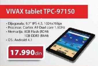 """Tablet 9.7"""" TPC-97150"""
