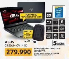 Laptop G750JH-CV144D