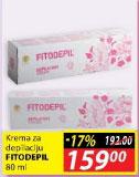 Krema za depilaciju Fitodepil